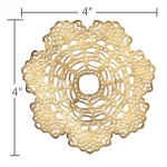 Sizzix - Tim Holtz Alterations - Thinlits - Doily Die #1