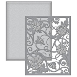 Spellbinders - Card Creator - Renaissance -  Card Front - Acanthus Leaf