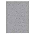 Spellbinders - Embossing Folders - Donna Salazar - Splattered Circles