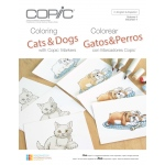 Copic - Coloring Cats and Dogs with Copic Markers Book