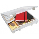 "ArtBin Super Slim Satchel: 1 Compartment, Translucent, 15.25"" x 14"" x 2"""