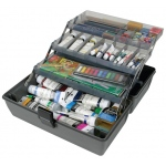 Upscale 3 Tray Box - Metal Links - Slate Grey