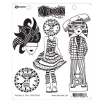 Ranger - Dyan Reaveley - Dylusions - Cling Stamps - Passage of Time