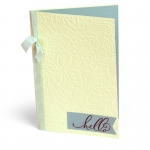 Sizzix - Textured Impressions Plus Embossing Folder - Botanical Lace by Katelyn Lizardi
