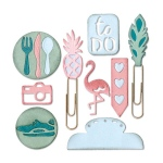 Sizzix - Thinlits Die Set - 9 Pack - Planner Page Icons #2 by Katelyn Lizardi