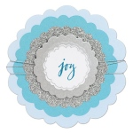 Sizzix - Framelits Die Set - 5 Pack - Circles - Rounded Scallops by Sharyn Sowell