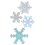 Sizzix - Thinlits Die Set - 4 Pack - Snowflakes #2 by Sharyn Sowell