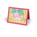 Sizzix - Framelits Die Set - 9 Pack - Rectangles - Dotted by Stephanie Barnard