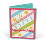 Sizzix - Framelits Die Set - 16 Pack - Card Front w/Script Words Drop-ins by Stephanie Barnard