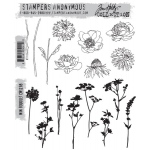 Stampers Anonymous - Tim Holtz - Mini Bouquet Stamps