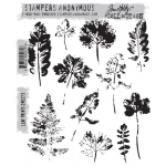 Stampers Anonymous - Tim Holtz - Leaf Prints Stamps