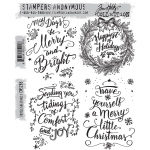 Stampers Anonymous - Tim Holtz - Doodle Greetings #1 Stamps