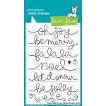 Lawn Fawn - Winter Big Scripty Words Stamps