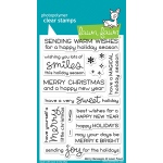 Lawn Fawn - Merry Messages Stamps