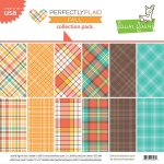 Lawn Fawn - Perfectly Plaid Fall - Collection Pack 12x12