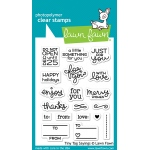 Lawn Fawn - Tiny Tag Sayings Stamps