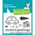 Lawn Fawn - Home for the Holidays Stamps