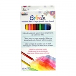 Marvy Uchida - Color In - Watercolor Pencils 12 Pc Set