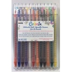 Marvy Uchida - Color In - Watercolor Twist 24 Pc Set