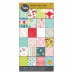 Sizzix - Paper - Cardstock Pad - Merry & Bright - 6x12 - 48 Sheets by Brenda Walton