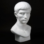 Natural Pigments Drawing Plaster Cast Roman Youth