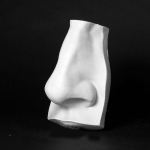Natural Pigments Drawing Plaster Cast Nose