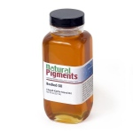 Natural Pigments Kettle-Bodied Oil (Stand Oil) 8 fl oz - Natural Source: Linseed, Linum usitatissimum