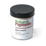 Natural Pigments Gum Arabic (Powder) 4 oz vol