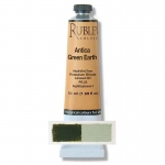 Rublev Colours Antica Green Earth 50 ml - Color: Green