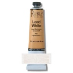 Rublev Colours Lead White 50 ml - Color: White