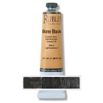 Natural Pigments Bone Black 50ml - Color: Black