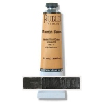 Rublev Colours Roman Black 50 ml - Color: Black