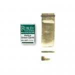 Rublev Colours Antica Green Earth (Full Pan) - Color: Green