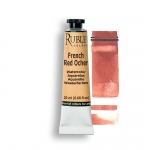 Rublev Colours French Red Ocher 15ml - Color: Red