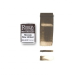 Rublev Colours Nicosia Raw Umber (Full Pan) - Color: Brown