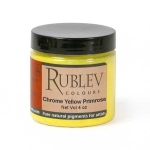 Natural Pigments Chrome Yellow Primrose (4 oz vol) - Color: Yellow