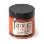 Natural Pigments Pozzuoli Red 100 g - Color: Red