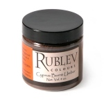 Rublev Colours Cyprus Burnt Umber (4 oz vol) - Color: Brown