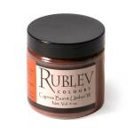 Rublev Colours Cyprus Burnt Umber Warm (4 oz vol) - Color: Brown