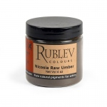 Rublev Colours Nicosia Raw Umber (4 oz vol) - Color: Brown