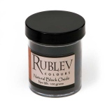 Rublev Colours Natural Black Oxide 100 g - Color: Black