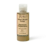 Natural Pigments Italian Brown Ocher 2 fl oz - Color: Brown