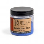 Rublev Colours Cobalt Zinc Blue 100 g - Color: Blue