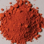 Natural Pigments Luberon RFL Red Ocher 1 kg - Color: Red