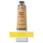 Rublev Colours Naples Yellow (Lead Antimonate) 50 ml - Color: Yellow