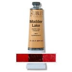 Rublev Colours Madder Lake 50 ml - Color: Bluish Red