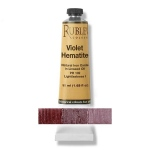 Natural Pigments Violet Hematite 130 ml - Color: Purplish Red