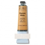 Natural Pigments Flemish White 50 ml - Color: White