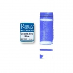 Rublev Colours Cobalt Zinc Blue (Full Pan) - Color: Blue