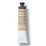Rublev Colours Purple Ocher 50 ml - Color: Dark Red